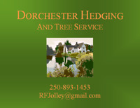 Dorchester Hedging and Tree Service