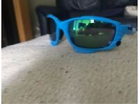 TEAM SKY blue Oakley Jawbone sunglasses, rare colour special edition.