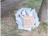 New Granite Driveway setts paving edging block - Free