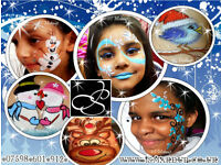 ☃ CHRISTMAS ⁂ Professional Face Painting Birmingham / Walsall Body Art ☺ Face Painter ❀ Birthdays ❄