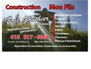 construction rénovation réparation Saguenay Saguenay-Lac-Saint-Jean image 1