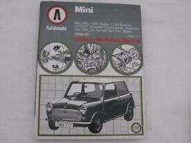 Mini Autobooks – Owners Workshop Manual 1959 - 80 for Mini