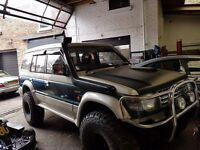 mitsubishi pajero 2.5td REDUCED!! lwb exceed not shogun,oFF ROAD READY,MOTD,DRIVE AWAY TODAY!!!