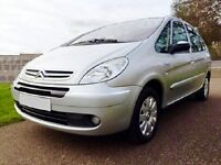 A Very Beautiful 'Diesel Exclusive Citroen Picasso' Only 5500 Miles Yearly.