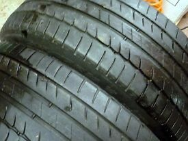 Michelin Primacy HP - 205/55R16 91V - Runflat (RSC) - pair - 4 to 5mm of tread