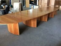 Rosewood 5 Piece Conference Table
