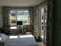 Nice double room with ensuite bathroom and private entrance