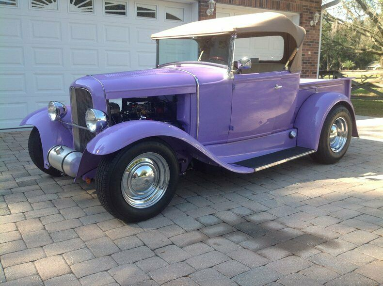 Lavender Cream Ford Pickup with 2,593 Miles available now!