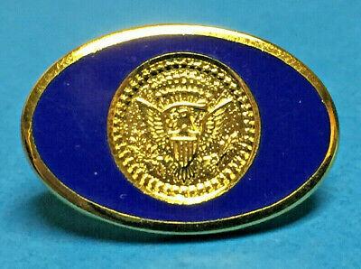 RONALD REAGAN -- WHITE HOUSE PRESIDENTIAL GUEST HARD PIN -- SECRET -