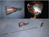 New Wilson Prostaff HL 10.5 right handed Driver with cover