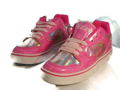 Heelys Fushia pink sneakers  Kids Motion US6 Youth/wo,s7M