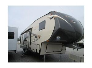 2014 Chaparell 5th wheel 29RKS on leased lot Pigeon Lake