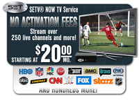 500+ Channels, $20 a Month! Live in HD