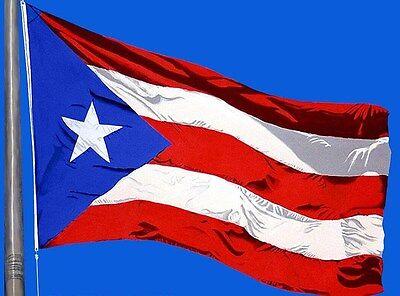 NEW HUGE 4x6 ft PUERTO RICO FLAG