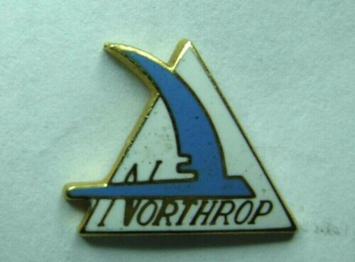 Northrop Enameled Employee Service Pin  Wing