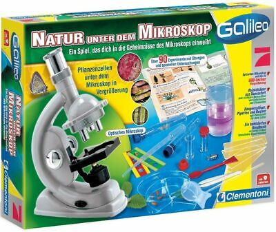 Clementoni Galileo Mikroskop für Kinder