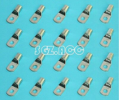 20 X 2 Gauge 2 Awg X 516 In Tinned Copper Lug Battery Cable Connector Terminal