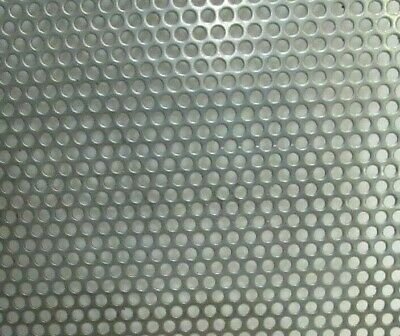 18 Holes-20 Gauge 304 Stainless Steel Perforated Sheet --12 X 14-34