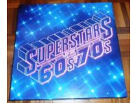 Superstars Of The 60s & 70s - Readers Digest Boxed Set 11 Vinyl LP Compilation