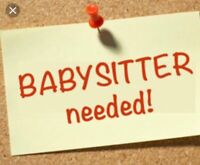 Afternoon Sitter Needed