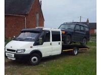 Ford Transit mk6 crew cab recovery truck **may swap/px**