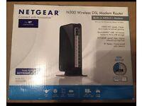 NETGEAR N300 Wireless DSL modem router