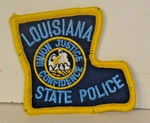 LOUISIANA STATE  POLICE OFFICER  patch