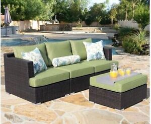 4 piece sectional patio set by Sirio ,