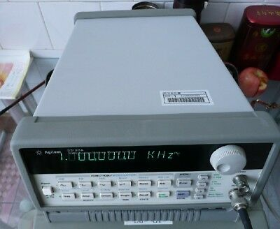 1pc Hp Agilent 33120a 15mhz Arbitrary Waveform Generator Dhl Or Ems P257 Yl