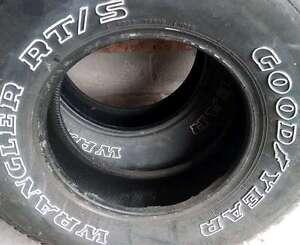 4 Goodyear Wrangler RT/S P235 75R15 Tires for Sale
