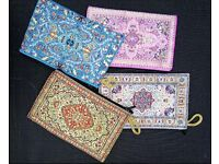 Beautifully Woven Turkish Coin Purses with Carpet/Ethnical Designs