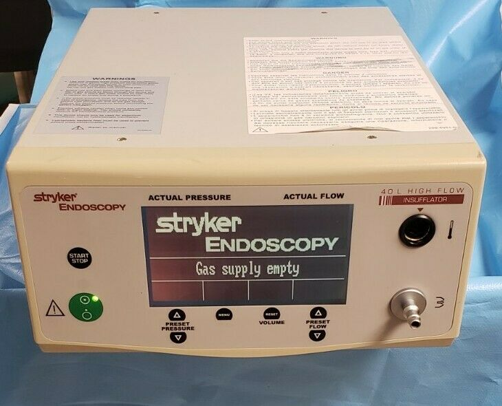 Stryker Endoscopy 0620-040-000 40L High Flow Insufflator ~ 20971