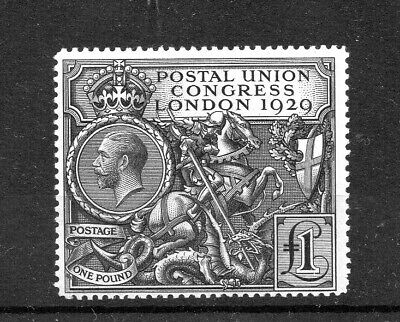 GB 1929 GV PUC £1 HIGH VALUE SG438 LIGHTLY MOUNTED MINT