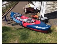 Seylor taiti 2 plus 1 inflatable kayak