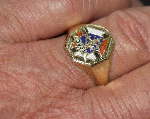 VINTAGE KNGHTS OF COLUMBUS RING