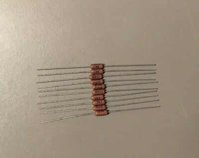 Dale Vishay Rn60d1001f Mil-spec Metal Film Resistor 1k Ohm 1 Lot Of 10