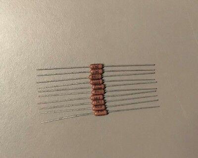 Dale Vishay Rn60d1001f Mil-spec Metal Film Resistor 1k Ohm 1 Lot Of 10