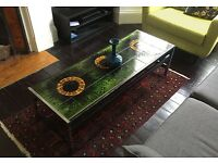 Vigneron Tile Topped Vintage Coffee Table (1960s)