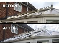Cleaning of Roof, Conservatories, Patios, Solar panels, Decking and many more services