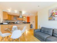STUNNING 2 BEDROOM FLAT, furn, 24 HOUR Concierge, Millharbour, London, HOT WATER AND HEATING INC