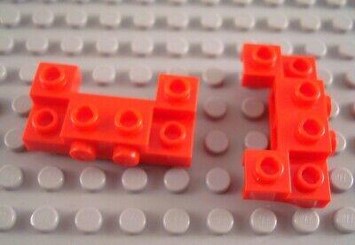 LEGO Lot of 2 Green 4x5 Car Vehicle Bases