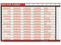 Wall Planner 2018