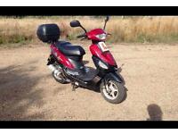 Baotian bt49qt moped scooter 49cc