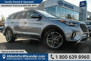 2017 Hyundai Santa Fe XL Limited GREAT CONDITION & ACCIDENT FREE