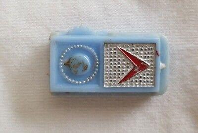 Vintage American Character Tressy Doll Blue Transistor Radio