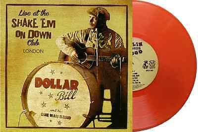 "DOLLAR BILL - Ltd Ed.10"" ORANGE VINYL LP - LIVE IN LONDON - HOT ROCKABILLY BLUES"