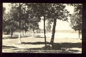 1946-RPPC-Beach-at-Assembly-Grounds-Paynesville-MN-Real-Photo-Postcard-A6897