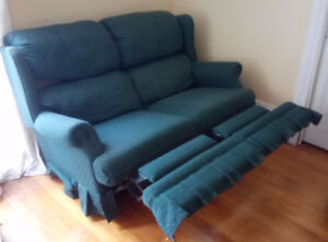 Reclining Love Seat Couch Sofa