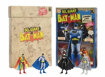 SDCC 2019 Mattel Exclusive: DC Super Heroes - 80 pg. GIANT BATMAN 4-Pack, NEW