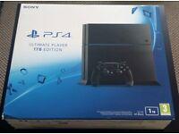 Brand new sealed 1tb PS4 console with controller